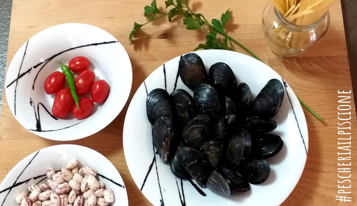 Pescheria Il Piscione Ciriè Pasta Fagioli e Cozze blog
