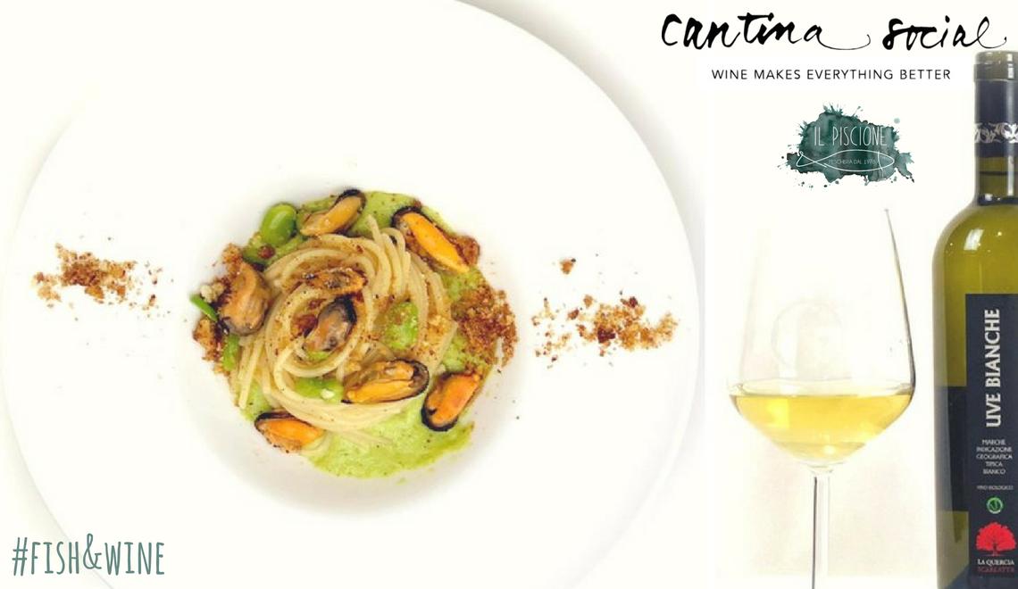 Fish&Wine #3 | Spaghettone Cozze e Fave